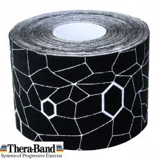 Kinesiotaping Theraband 5X5 m. Μαύρο 12927